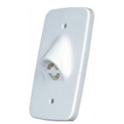 Siren, 1-Gang, 1-Tone, 6 to 14 Volt DC, 110 Milliampere, White, For Wall Box