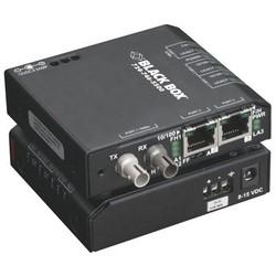 "Media Converter Switch, Multimode, Standard, 3 SC Port, 10/100 Mbps, 115 Volt AC, 60 Hertz, 3"" Width x 1"" Depth x 3.5"" Height, Steel Enclosure"