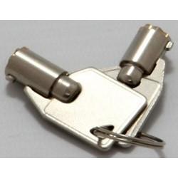 Lock Key Set, Standard, For Miniraq Secure Enclosure
