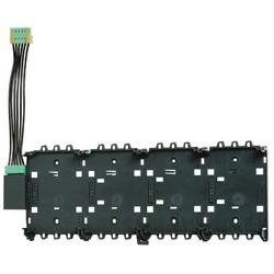 Fire Alarm Panel Rail, Large, 24 Volt DC Input, 5/24 Volt DC Output, -5 to 50 Deg C, ABS Plastic/Polylac, Satin/Anthracite
