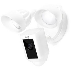 """Motion Activate Camera, 1080p Resolution, Object/Facial Detection, Siren Remote, 100 to 240 Volt, 4-3/4"""" Diameter Base"""