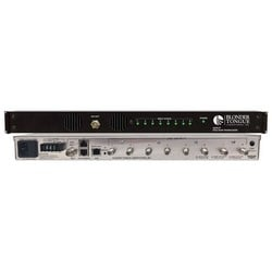 """Transcoder, 8-ATSC/QAM Input, 8-IP Output, 110/230 Volt AC, 50/60 Hertz, 50 Watt, 19"""" Width x 16"""" Depth x 1.75"""" Height, With Emergency Alert System"""