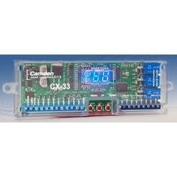 "Door Control Logic Relay, SPDT, 3 Segment LED Display, 12 to 30 Volt AC/DC, 105 Milliampere, 6"" Width x 7.8"" Depth x 2"" Height"
