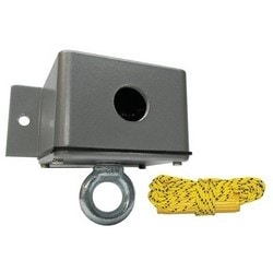 """Door and Gate Control Pull Switch, Ceiling Mount, NO, SPST, Momentary, 5-1/8"""" Length x 5-1/8"""" Width x 5-3/8"""" Depth, With 360 Degree Rotating Arm and Pivoting Cam, 110 Volt Heater"""