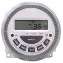 """Programmable Timer, 7-Day, SPDT, 12 Volt AC/DC, 10 Milliampere, 2-3/8"""" Length x 2-3/8"""" Width x 1-1/4"""" Depth"""