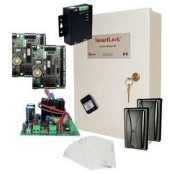 Door Starter Kit, Includes (2) Smartlock Controller, (1) Smartlock Enclosure, (2) HID/AWID Reader, (10) HID Compatible Card