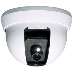"""Dome Camera, NTSC, Analog, Mini, Indoor, Ceiling Mount, 420 TVL Resolution, 3.6 MM F2.0 Wide Angle Lens, 12 Volt DC, 100 Milliampere, 1.6 Lux, 3.8"""" Diameter x 2.8"""" Height"""