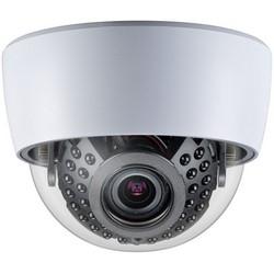 Network Camera, Dome, Indoor, True Day/Night, 33-IR LED, 700 TVL Resolution, F1.2 Varifocal 2.8 to 12 MM Lens, 24 Volt AC/12 Volt DC, Plastic Case, Polycarbonate Dome, Black