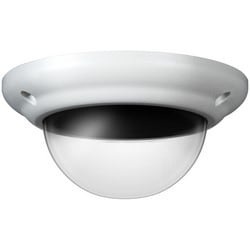 """Dome Camera Cover, Replacement Top, 5.813"""" Length x 5.813"""" Width x 2.75"""" Height, Aluminum Housing, Polycarbonate Dome, For IR Vandal X"""