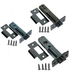 Mechanical Lock Deadbolt, Dual Back, Adjustable Backset, Polished Brass, For CL100/200/300 Series Lock