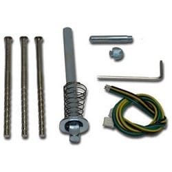 Electronic Lock Service Pack, With Mounting Bolt, Spindle, For CL4000 Series Lock