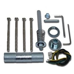 Electronic Lock Service Pack, With Spindle, Wire Tube, For CL5000 Series Lock