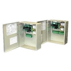 Regulated Power Supply, 4-Lock, 8-Input/Output, 120 Volt AC 60 Hertz Input, 24 Volt DC at 4 Ampere Output, With Fire Alarm Link, Battery Charging Circuit, For Exit Device