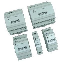 "Power Supply, DIN-Rail Mount, 90 to 264 Volt AC, 47 to 63 Hertz Input, 12 Volt DC, 4500 Milliampere, 54 Watt Output, 2.22"" Width x 2.8"" Depth x 3.58"" Height"