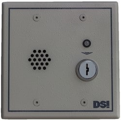 "Door Management Alarm, Double Bit Key Switch, 96/103 dB, 12/24 Volt AC/DC at 250 Milliampere, 4.6"" Width x 2.3"" Depth x 4.6"" Height, Beige, With Tamper Switch"