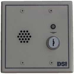 """Exit Alarm, Double Bit Key Switch, 103 dB, 12 to 24 Volt AC/DC 200 Milliampere, 4.6"""" Width x 2.3"""" Depth x 4.6"""" Height, Beige, With Tamper Switch"""