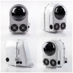 Camera Enclosure, Active Cooling, 110/220 Volt AC, 12 Volt DC, 3 Ampere at 12 Volt DC, 215 Watt at 12 Volt DC