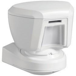 """Passive Infrared Motion Detector, Wireless, Outdoor, PowerG Technology, 915 Megahertz, 5.9"""" Width x 4.9"""" Depth x 6.2"""" Height, With (2) 3 Volt CR123A Lithium Battery"""