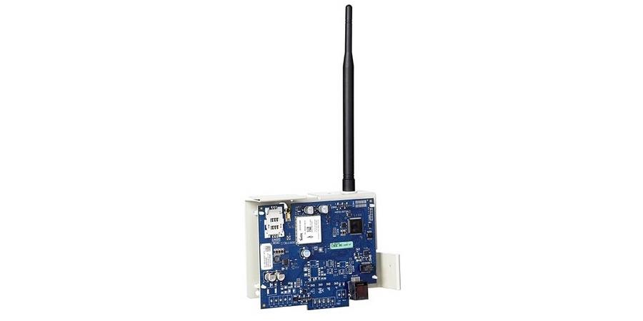 "Internet/HSPA Alarm Communicator, 2-Path, HSPA/3G, 128-Bit, 120 Milliampere, 5.875"" Width x 4.5"" Height, Canadian Version, With Mounting Bracket, Neo Panel, SIM Card"