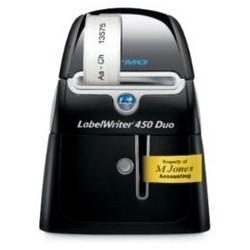 Label Printer, Labelwriter 450 Turbo, Indoor/Outdoor, 71 Label per Minute, Vinyl, For Address, Mailing, Shipping, File Folder, Name Badge