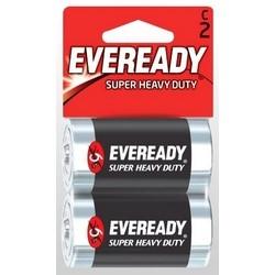 "Industrial Battery, Super Heavy Duty, C, 1.5 Volt, 3800 Milliampere-Hr, 1.031"" Diameter x 1.969"" Length, Zinc Manganese Dioxide Chemical, Metal Jacket"