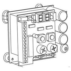 Swing Door Operator Fuse, Digital Board, 3 Ampere, For HA8-SP/FA8-SP Swing Door Operator, 6 each per Pack
