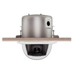 Camera Mount, Indoor, Recessed Flush Mount, Clear Bubble, Black, For Illustra 625 PTZ Camera