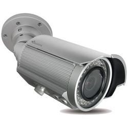 IP Camera, Bullet, True Day/Night, Outdoor, Non-Vandalproof, Multi-Exposure WDR, IR, 2.8 to 12 MM Lens, 3 Megapixel, White, IP66, PoE