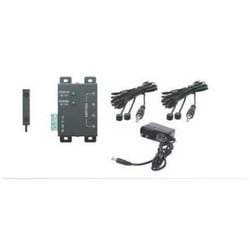 IR System Infrared Kit, Wide Frequency, Includes Micro IR Receiver, Connection Module, Power Supply, (2) Emitter, LED
