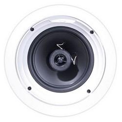"""In-Ceiling Speaker, 8 Ohm Impedance, 91 dB at 2.83 Volt per 1 Meter, 35 Watt, 57 Hertz to 20 Kilohertz, 6.5"""" Poly Woofer, 9.5"""" Diameter, 4.2"""" Mounting Depth"""