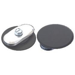 """Door Hole Filler Disc Kit, 1-5/8"""" Diameter Disc, Aluminum, Bronze, Includes (2) Disc, (2) Bracket, (2) Screw"""