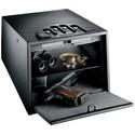 """Gun Safe, Multi-Vault, 10-1/4"""" Width x 14"""" Depth x 8-1/4"""" Height, 16 Gauge Steel"""