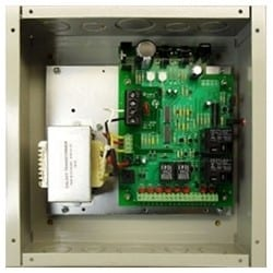 """Door Electric Latch Retraction Controller Power Supply, 120 Volt AC 750 Milliampere Input, 16.5/28 Volt DC 250 Milliampere Output, 10.25"""" Length x 10.25"""" Width x 4.25"""" Height"""