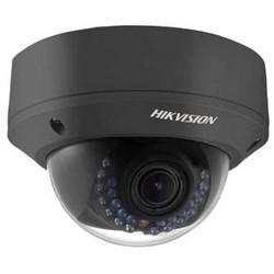 Network Camera, IR Dome, WDR, Day/Night, Outdoor, H.264/MJPEG, 2 Megapixel Resolution, 2.8 to 12 MM Motorized Lens, 30 Meter Range, IP67, IK10, 12 Volt DC, PoE, Black