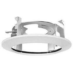"Camera Ceiling Mount Bracket, 9.2"" x 3.3"", Steel, White, For PTZ Camera"