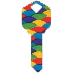 Decorative Key Blank, Schlage, Balloons Design