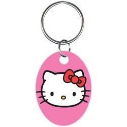 Key Chain, Hello Kitty Design, Pink, Individually Carded