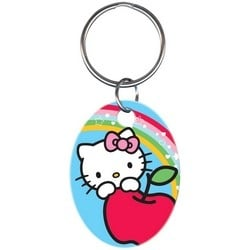 Key Chain, Hello Kitty Design, Blue, Individually Carded