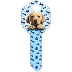 Decorative Key Blank, Schlage, Puppy Design