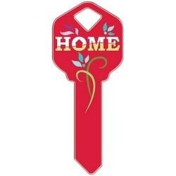 Decorative Key Blank, Kwikset, Home Design