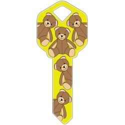 Decorative Key Blank, Schlage, Teddy Bears Design