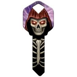 Decorative Key Blank, Kwikset, Skeleton Design