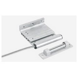 "Overhead Door Contact, Closed Loop, Track Mount, 6"" Maxi-Gap, Aluminum Housing, With 2' Stainless Steel Armored Cable"