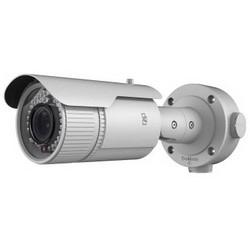 Network Camera, IP, IR, Bullet, WDR, Day/Night, H.264/MJPEG, 2 Megapixel, 1920 x 1080 Resolution, F1.4 Manual Varifocal 2.8 to 12 MM Lens, 12 Volt DC, 7.5 Watt, PoE