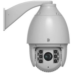 Network Camera, IP, IR, PTZ Dome, NTSC, DWDR, Day/Night, H.265/H.264/MJPEG, 2 Megapixel, 1920 x 1080 Resolution, F1.6 to F5.0 4.3 to 129 MM Lens, 64 GB, 24 Volt AC, 60 Watt, PoE