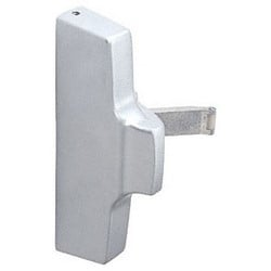 Exit Device Active Head Assembly, Satin Aluminum, For Right Hand Reverse 2085/2086 Series Concealed Vertical Rod Panic Exit Device