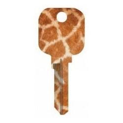 Groovy Key, Giraffe Pattern, CG Price Group, For Kwikset