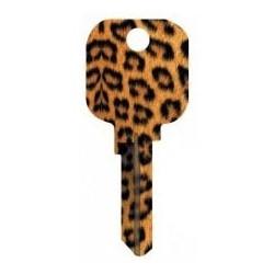 Groovy Key, Jaguar Pattern, CG Price Group, For Schlage