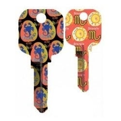 Groovy Key, Scorpio Pattern, CG Price Group, For Schlage