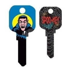 Groovy Key, Dracula Pattern, CG Price Group, For Kwikset